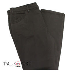 Granchio. Pantalone taglie forti uomo defernite marrone